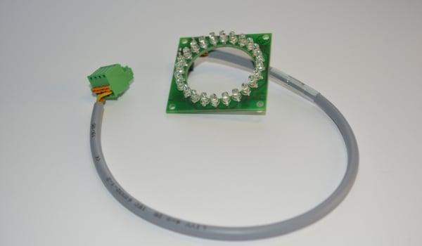 LED Spot mit Kabel