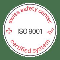swiss safety center_ ISO 9001_Siegel_Download